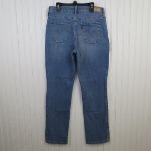 Levi's 505 Jeans Straight Leg Light Wash Stretch